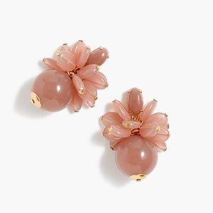 J.Crew Blossom Bauble Drop Earrings